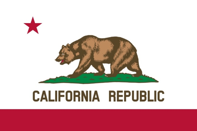 Flag of California, the Bear Flag